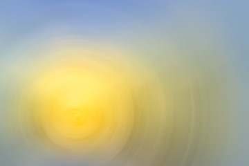 abstract spiral soft yellow blue gradient background
