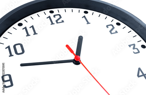 Fotografie, Obraz  Uhr - Konzept