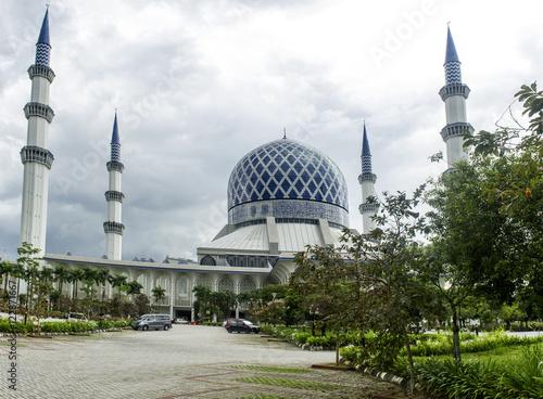 Mosque at Kuala Lumpur, Malaysia. March 15, 2012 Poster
