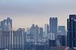Bangkok Skyline city office building cityscape