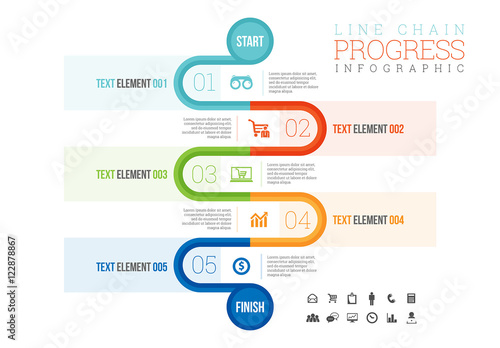 finish linfe element progress tracker infographic buy this stock