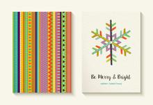Christmas Snowflake And Colorf...