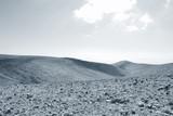 Desert Negev, monochrome. - 122891468