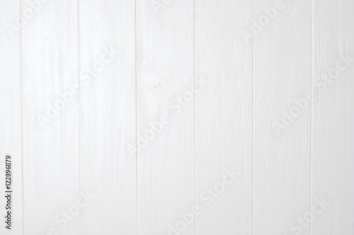 Fotografia, Obraz  White natural wood wall texture
