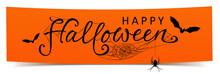 Happy Halloween - Banner Mit K...
