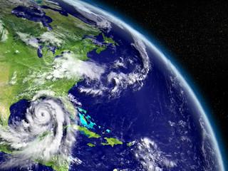 Hurricane Matthew in Mexican gulf