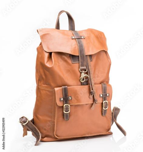 Obraz Foxy leather  casual backpack - fototapety do salonu