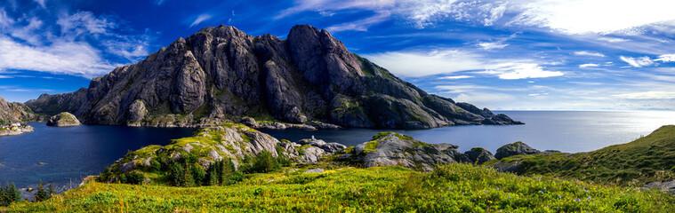 Hiking around Nusfjord , on...