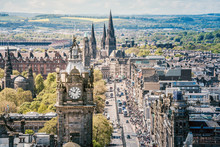 Edinburgh - Scotland - Princes Street