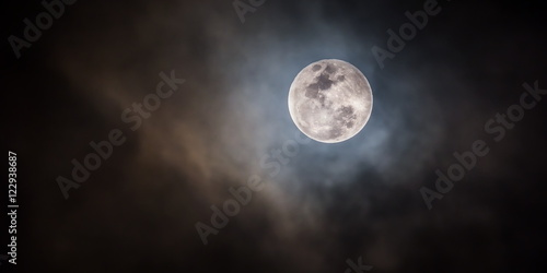 Photographie  Pleine Lune .