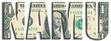 NAMU - North American Monetary Union. US Dollar Texture.