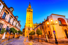 Giralda Tower In Sevilla, Anda...