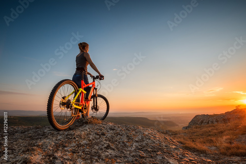 Photo  Sunset from the top /