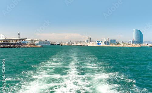 Plakat Port Barcelona - Hiszpania