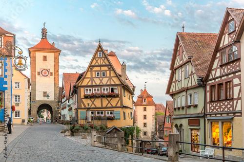 Fotomural  Rothenburg ob der Tauber