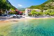 stunning beach in Dalmatia on Peljesac peninsula, Croatia