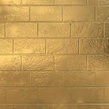 Golden Brick Wall