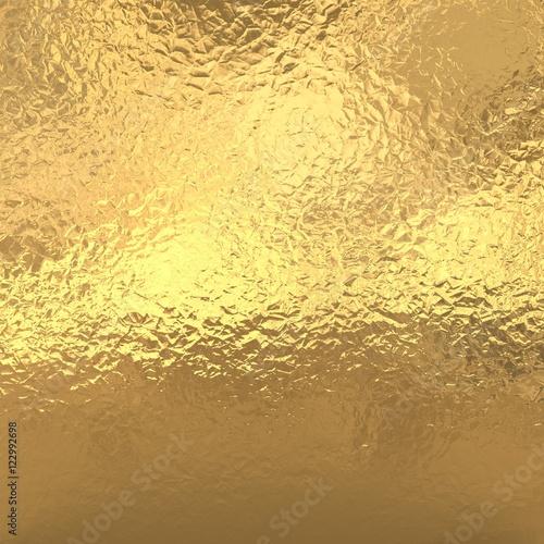 Metallic Gold Foil Background Gold foil backgr...