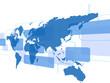 世界地図 日本地図 ビジネス テクノロジー