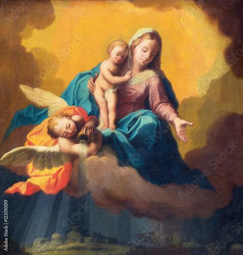 brescia-wlochy-maj-22-2016-obraz-madonna-jako-opiekun-w-burzy-nad-brescia