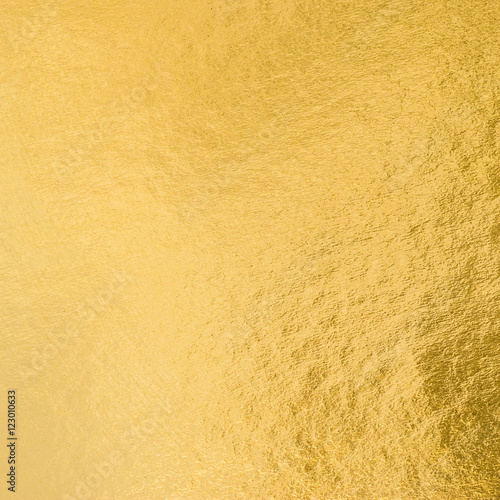 Shiny Hot Yellow Gold Golden Color Decorative Texture Paper