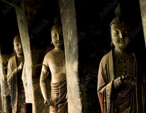 Foto op Plexiglas Xian grotto statue