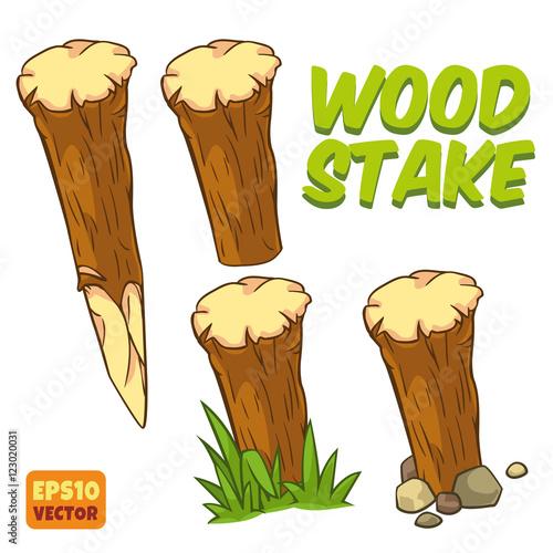 Fotografija Wood stake