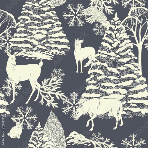 Stoffe zum Nähen Weihnachten und Neujahr monochrome festlichen Hintergrund