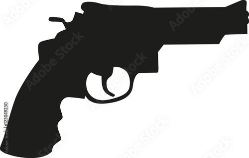 Pistol gun Wallpaper Mural