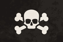 Pirate Flag With Skull And Cro...