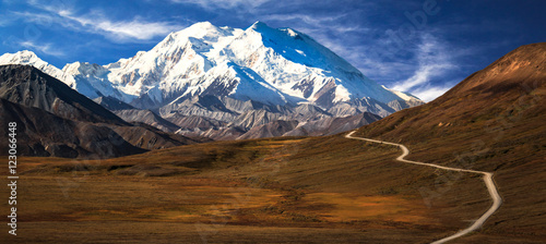 Road to Denali Wallpaper Mural