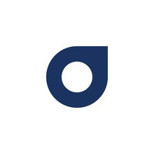 O Letter Initial Logo Design