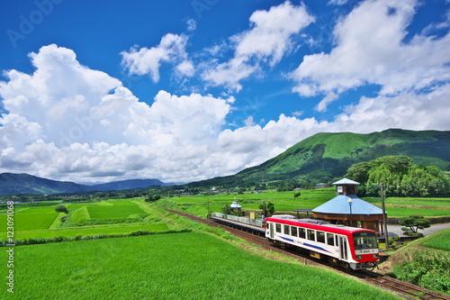 Photo 夏の高原鉄道