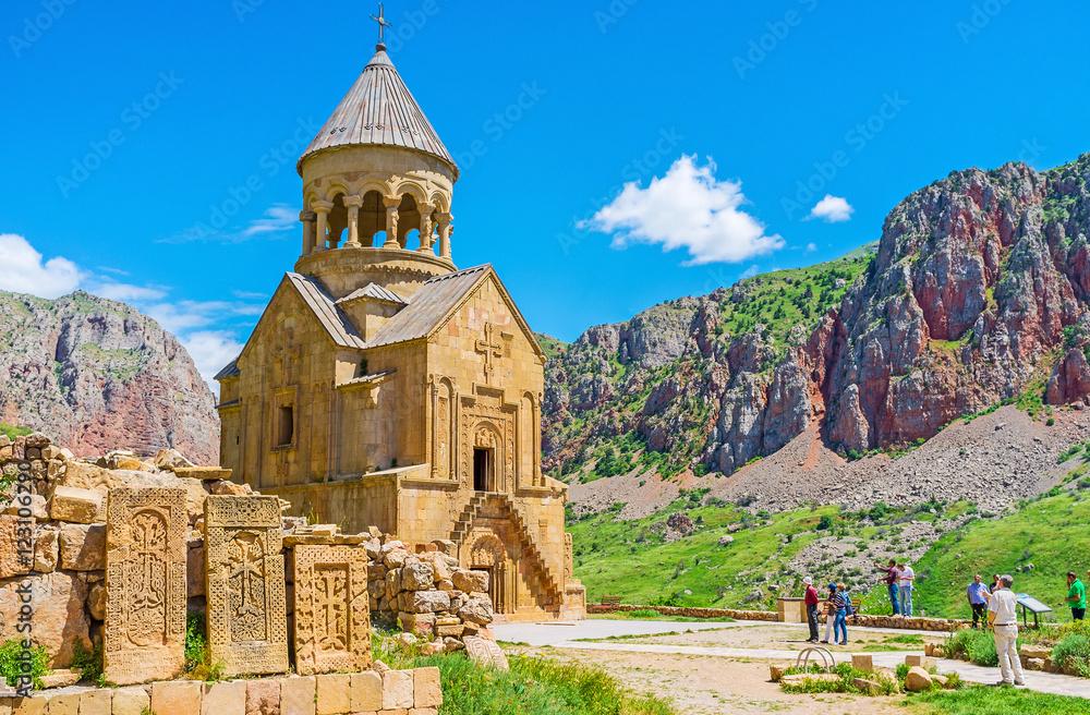Fototapety, obrazy: The religious art in Noravank Monastery