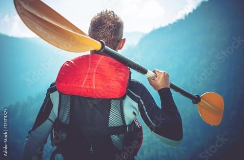 Fotomural  Kayak Trip Ready