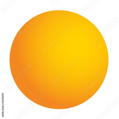 Fototapeta 卓球のボールのイラスト obraz na płótnie