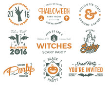 Halloween 2016 Party Labels Te...