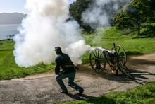 Camp Reynolds Cannon Firing De...