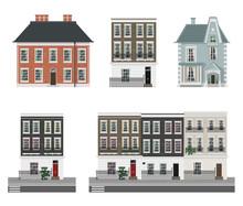 Victorian Buildings Set