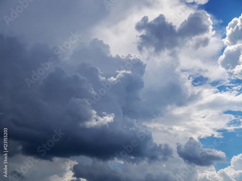Fényképezés  Cloudy Sky Background
