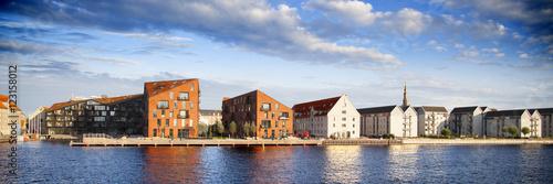Tuinposter Scandinavië Vista panorámica de Copenhague