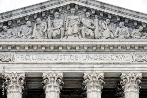 Supreme Court Building. Poster