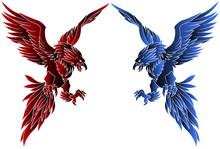 不死鳥デザインイラスト