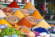 Variety Of Spices On The Arab ...