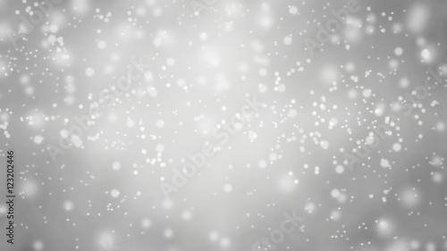 Fotografia snowfall - winter background