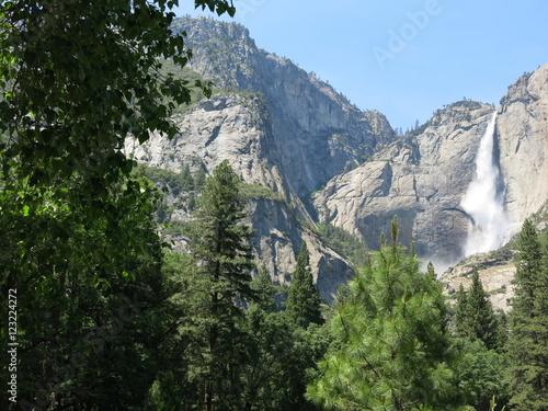 Foto auf Gartenposter Reflexion yosemite valley, USA