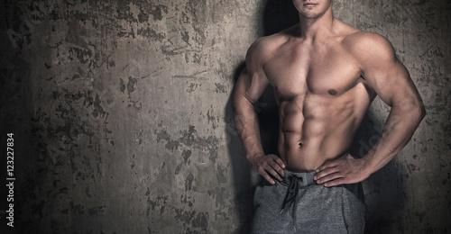 Fotografía  Muscular male torso
