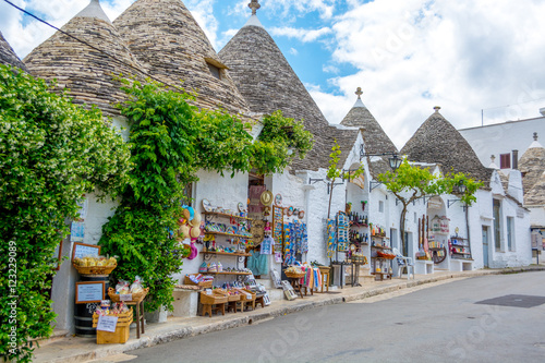Trulli Village - Alberobello Canvas Print