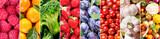 Fototapeta Fototapety do kuchni - fresh fruits and vegetables, banner