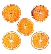 Set Of Dried Orange Slices